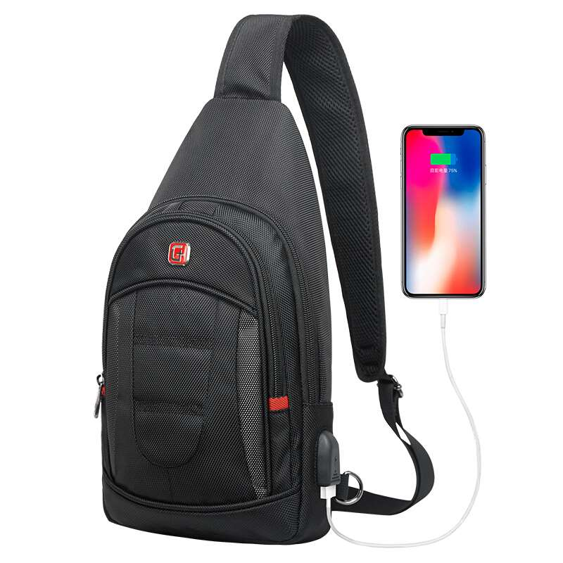 Crossbody Backpack usb charging port