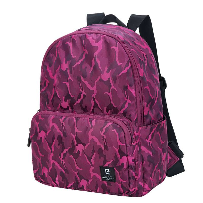 college backpacks for ladies red colour