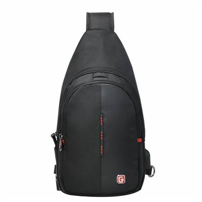 mens nylon sling backpack