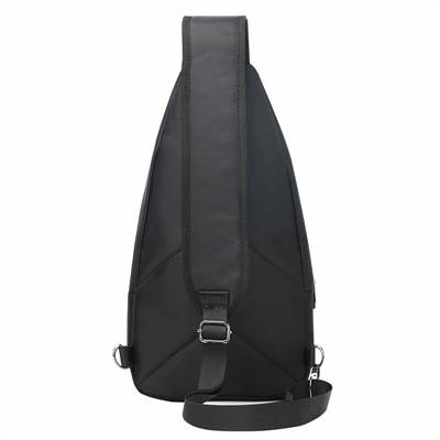 mens sling backpack back