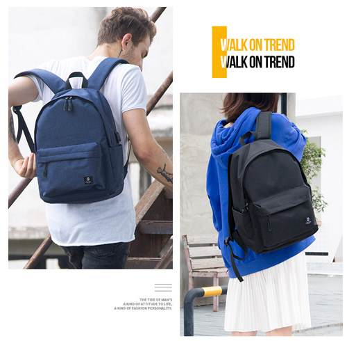 Matching backpacks blue mini